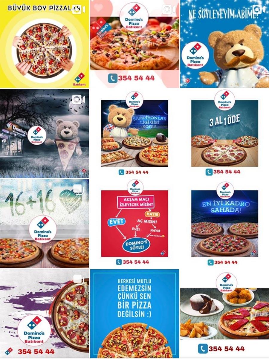 Branded Digital ödüllü sosyal medya postları